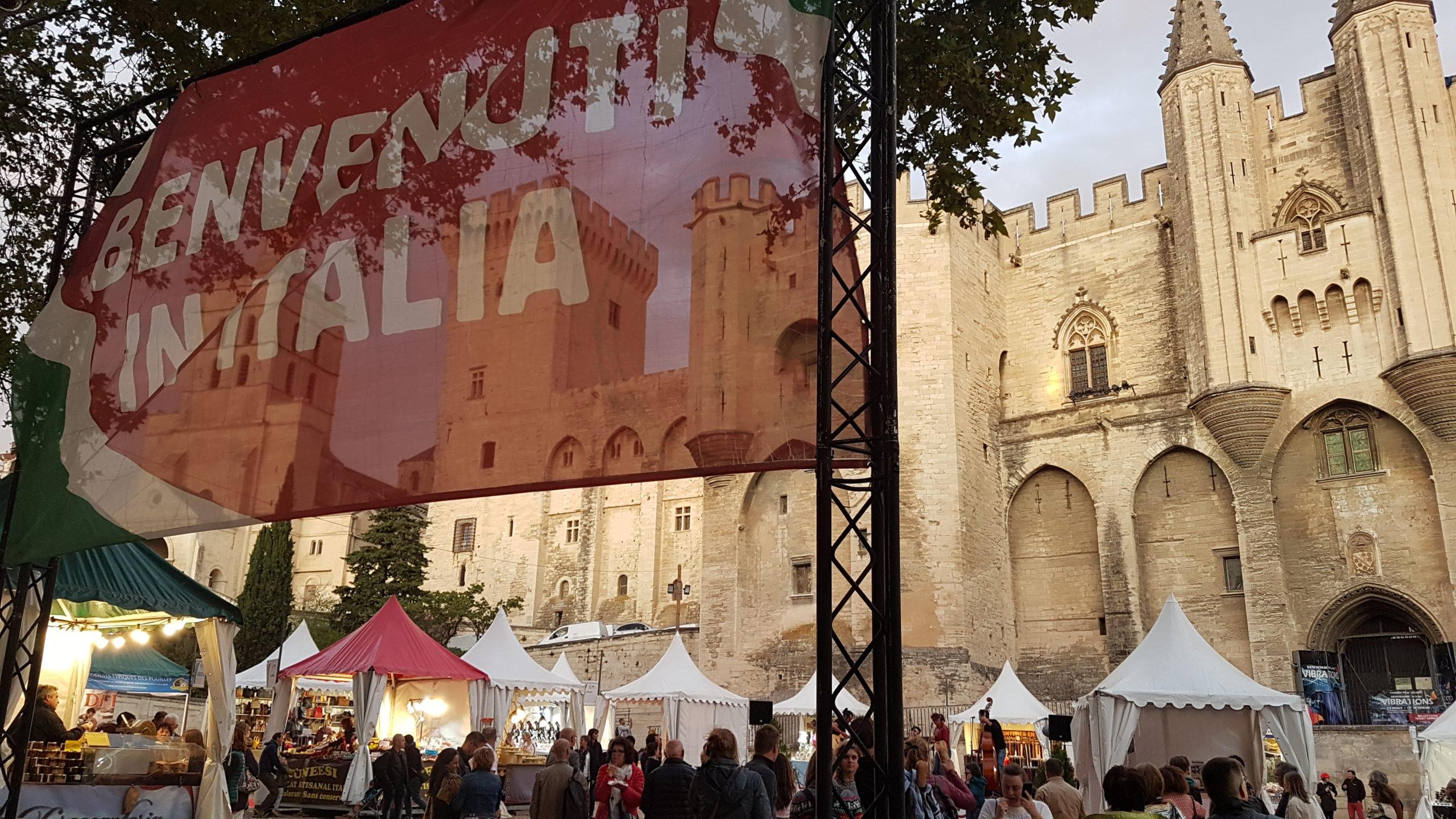 Villaggio italiano Avignone